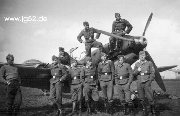 Die II./JG 52 in Böblingen