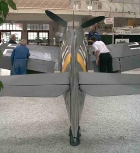 Polierarbeiten Me 109