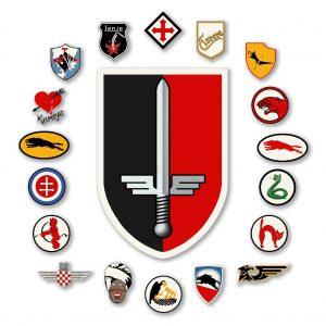 Abzeichen des Geschwaders, der Gruppen und der Staffeln des JG52