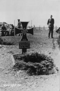 Das Grab von Willi Nemitz