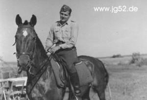 Lt. Schall auf kavalleristischen Abwegen