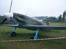 MiG-3-Attrappe im Museum Monino