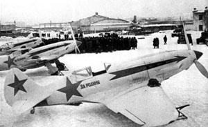MiG-3 der PWO bei Moskau