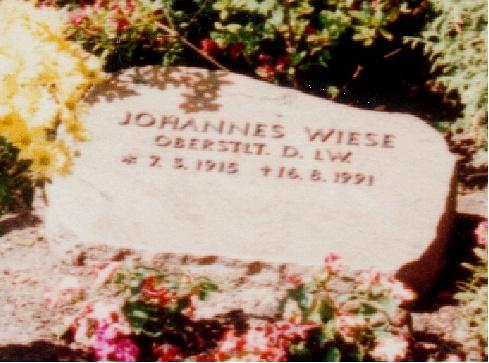 Grabstätte Johannes Wiese in Berlin-Nikolassee