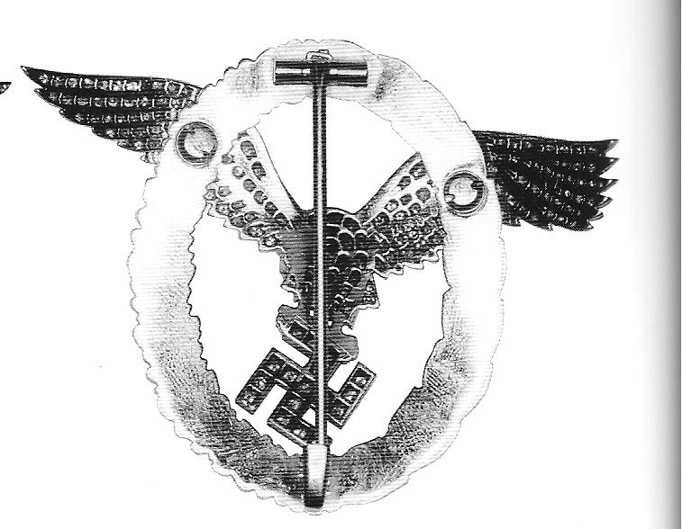 Rückseite des Ehrenzeichens